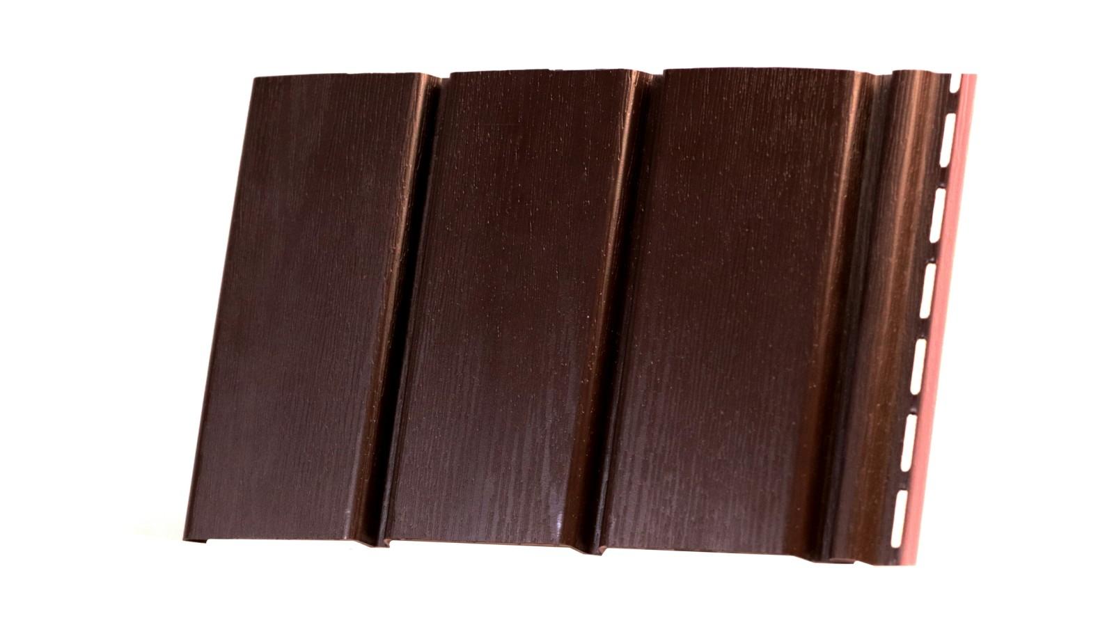 Софіт коричневий без перфорації