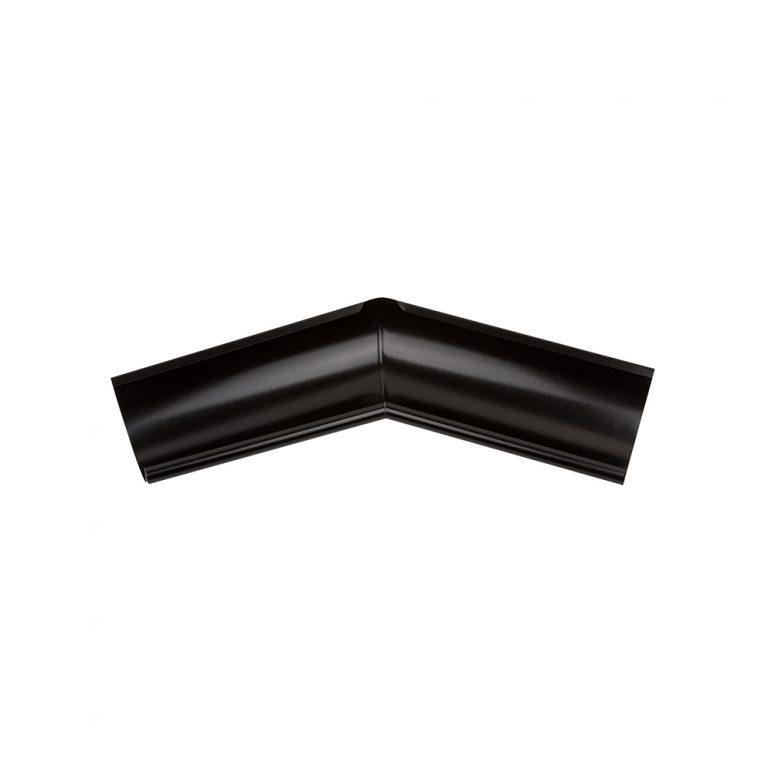 Зовнішній кут металевий, чорний 135° Aqueduct