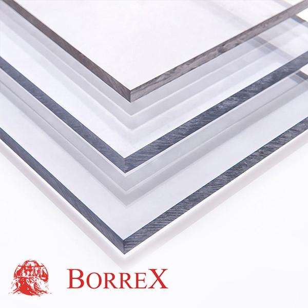 Монолітний полікарбонат Borrex, прозора 4мм
