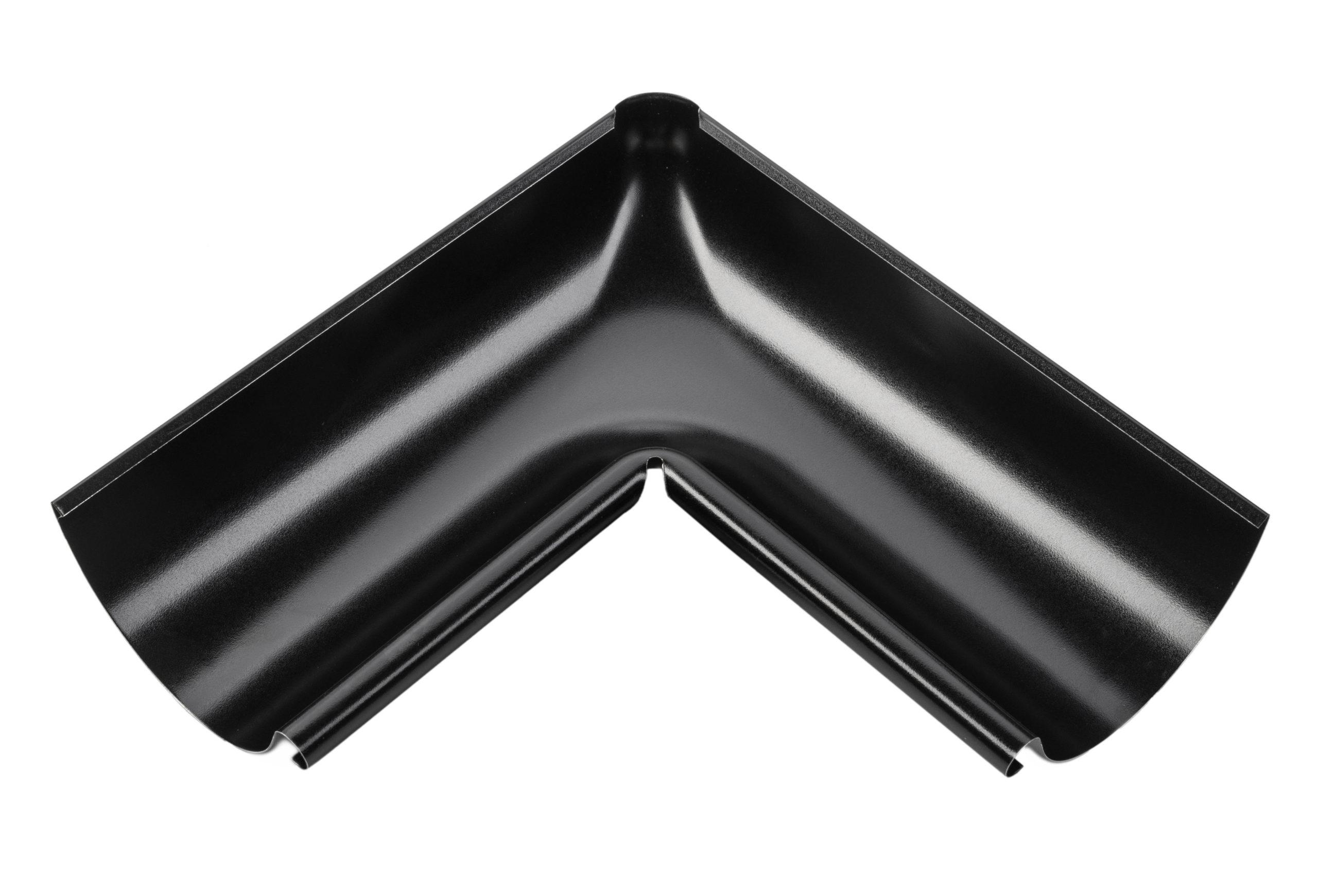 Внутрішній кут металевий, чорний 90° Aqueduct