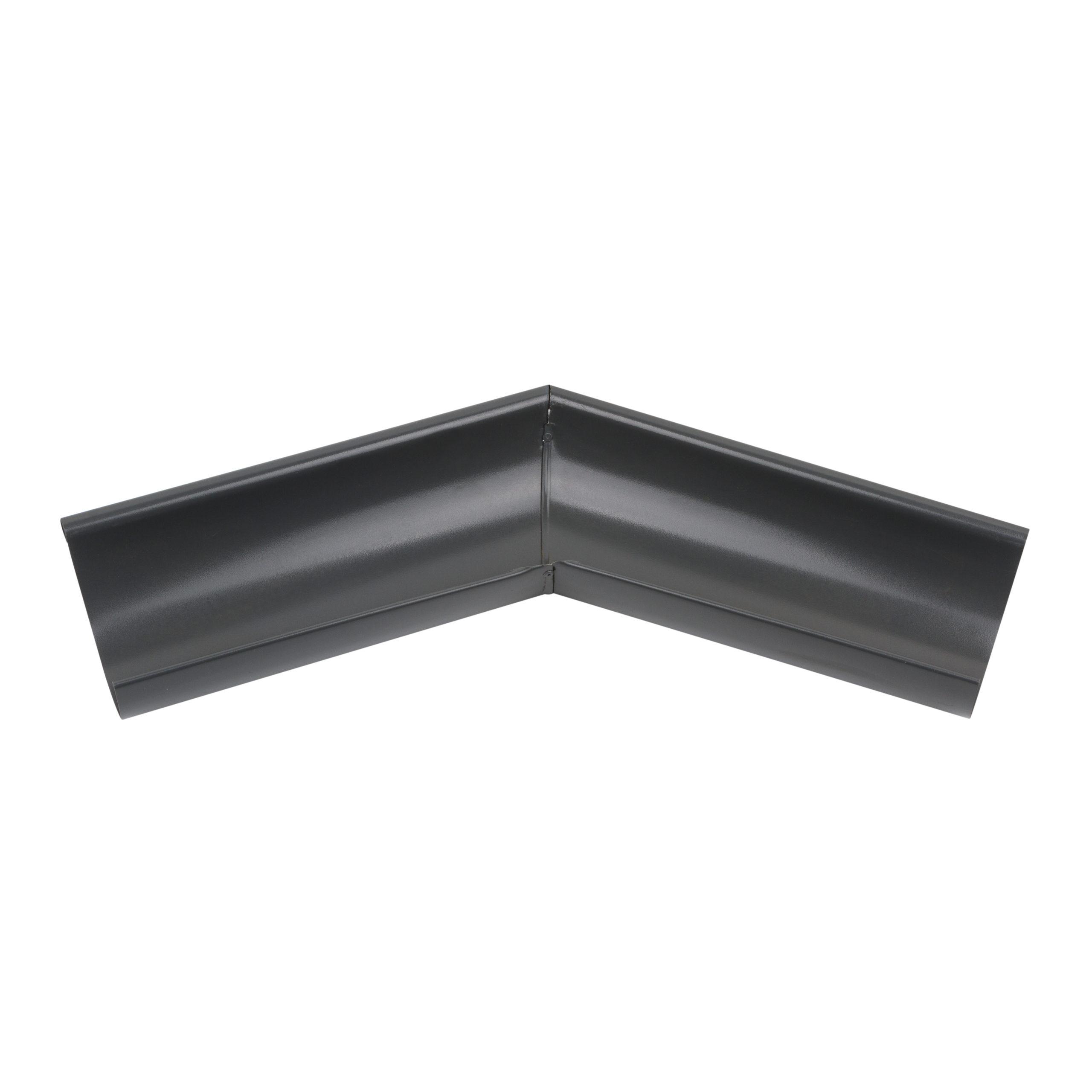 Зовнішній кут металевий, антрацит 135° Aqueduct