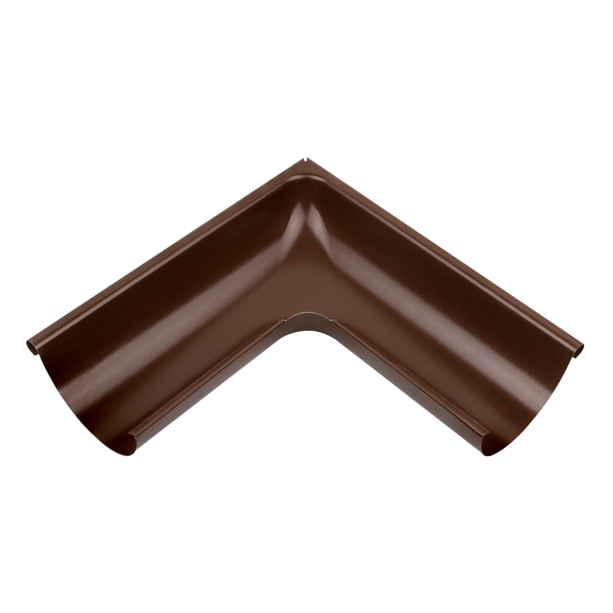 Зовнішній кут металевий, коричневий NEW 90° Aqueduct