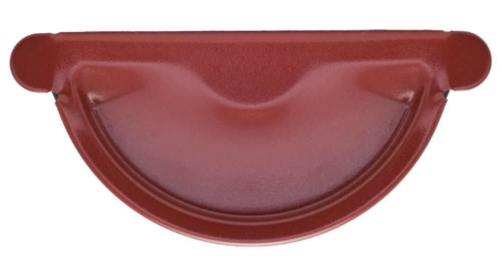 Заглушка металева, темно-червона Aqueduct