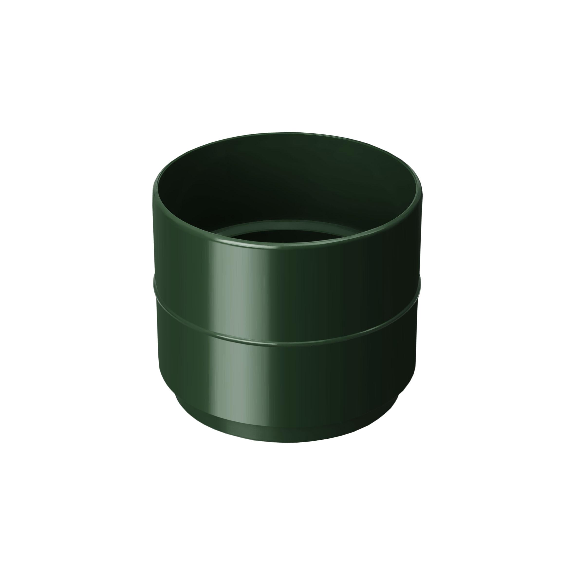 Муфта труби, зелена 100мм/Ø RainWay