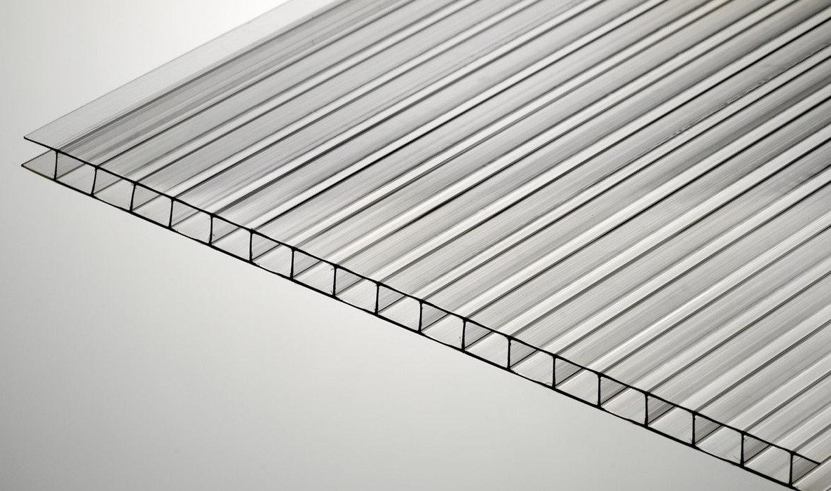 Сотовий полікарбонат Oskar, прозорий 8мм
