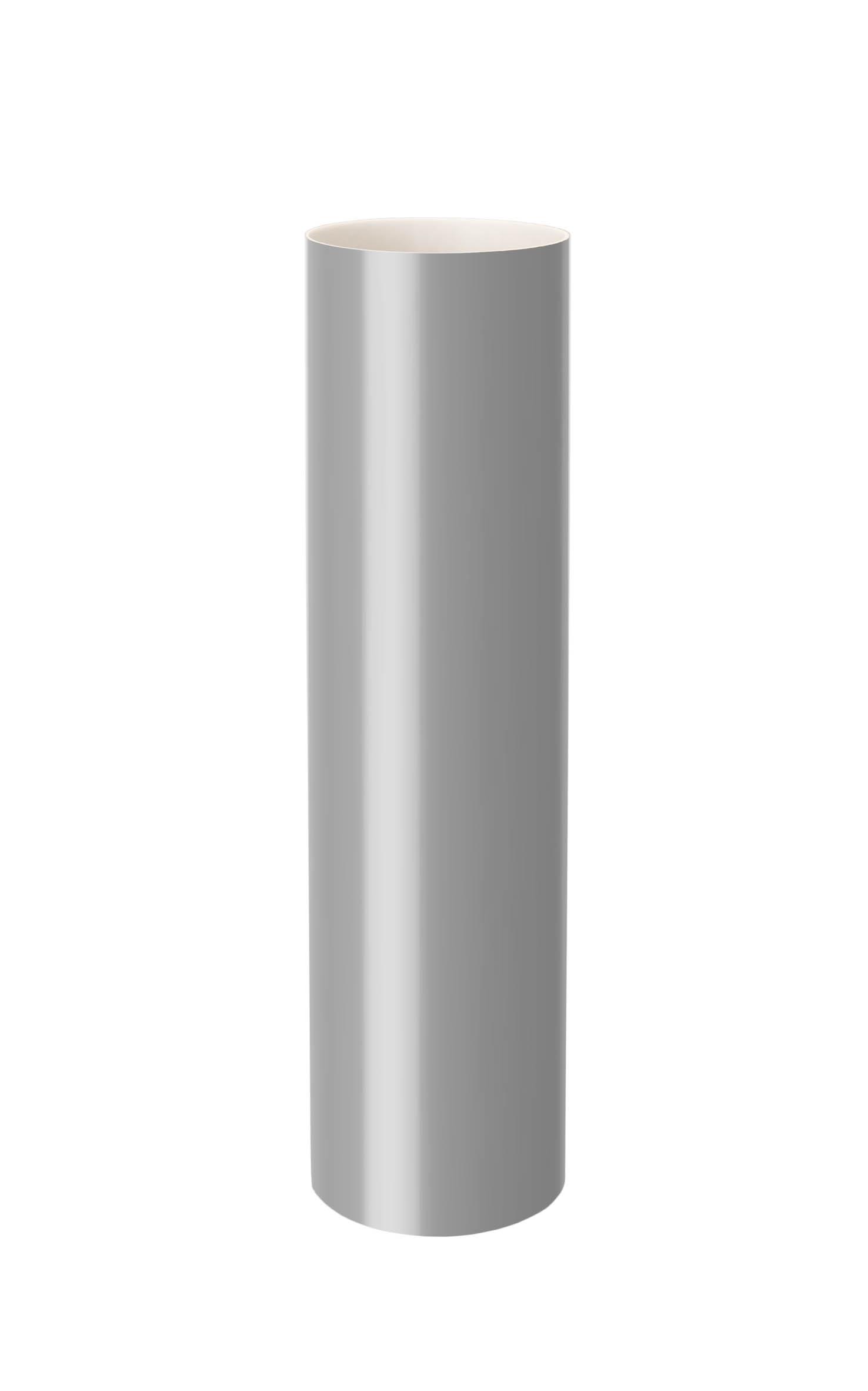 Труба, сіра 75мм/Ø  довжина 3м, RainWay