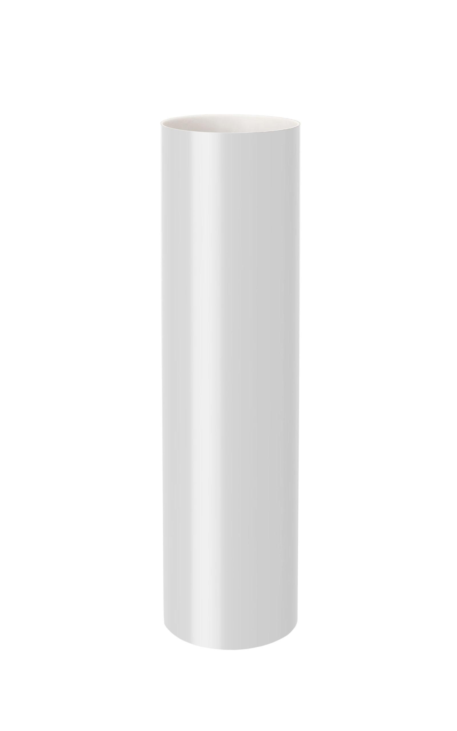 Труба, біла 85мм/Ø довжина 3м Runner