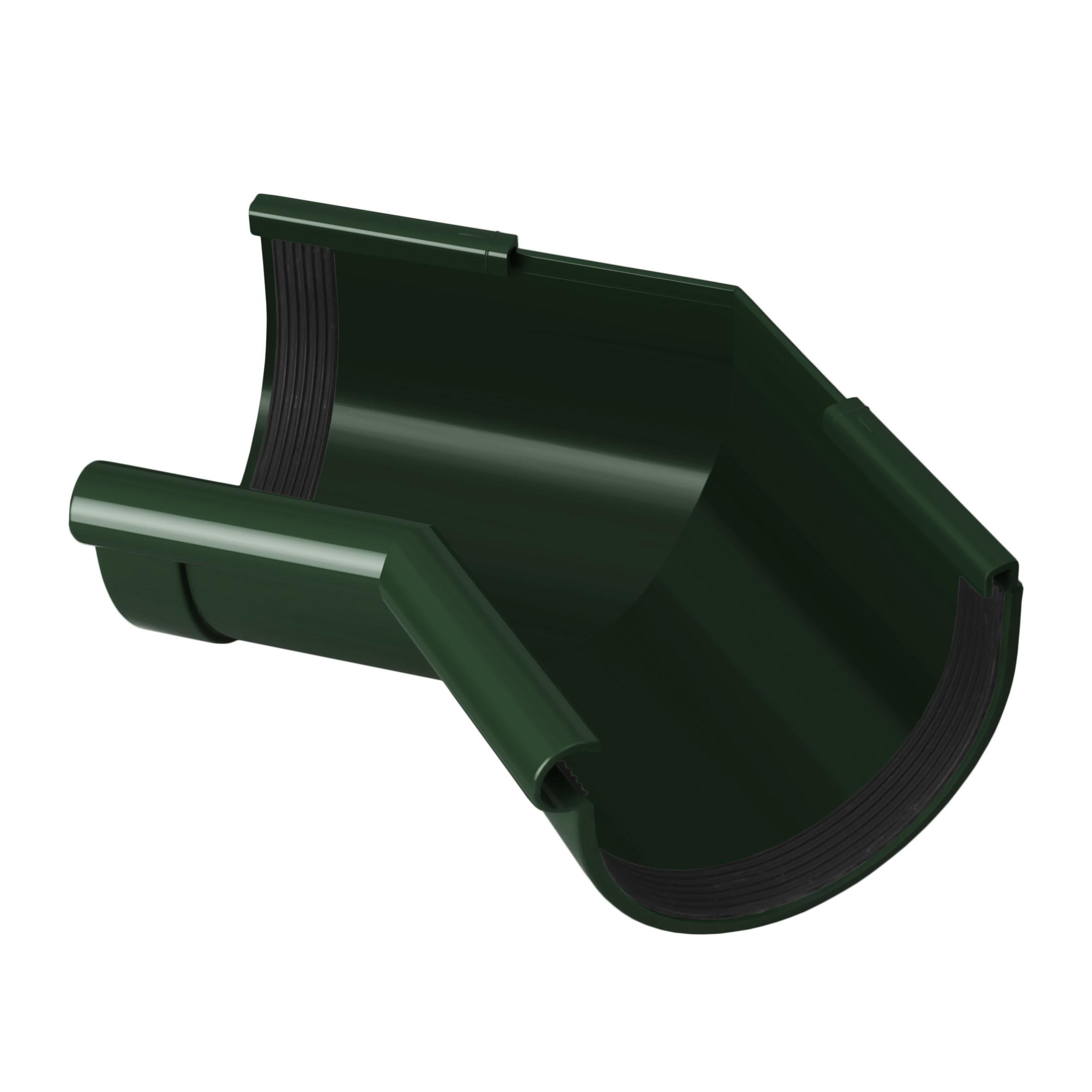 Кут ринви внутрішній 135°, зелений 90мм/Ø RainWay
