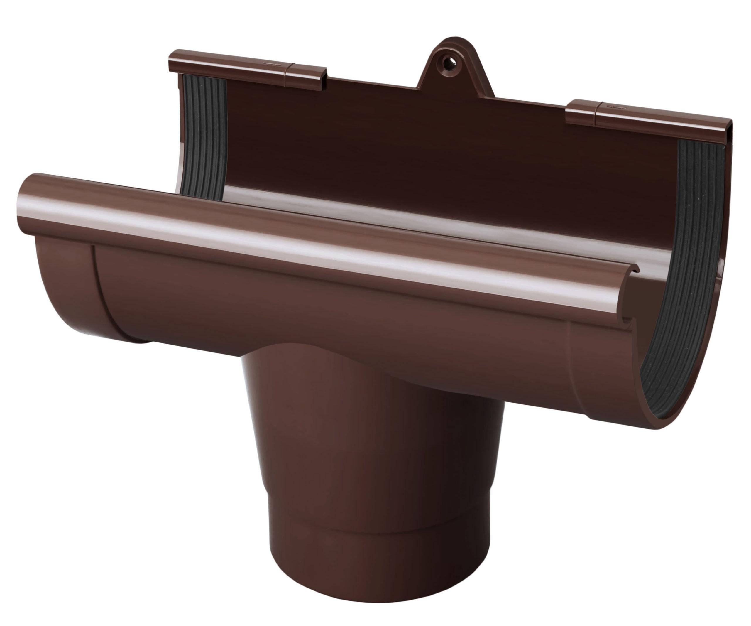 Лійка ринви, коричнева 130мм/Ø RainWay